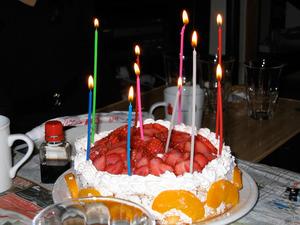 ムーディなケーキ